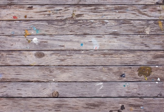 Old weathered stained wood texture