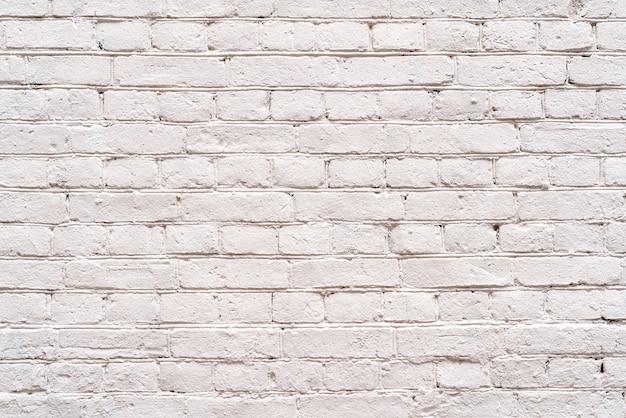 古い白いレンガの壁のデザインインテリア