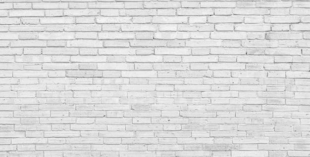 Old white brick wall large background