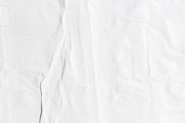 Старая белая бумага рваная порванная бумага пустой мятой мятой плакаты гранж текстуры поверхности