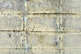 古い白い石ブロック壁の背景