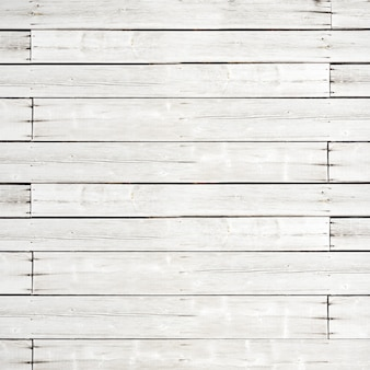 Old white wooden plank background texture. square backdrop