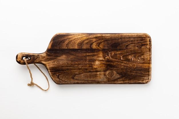 디자인 또는 작업에 대 한 복사 공간 흰색 배경에 고립 된 오래 된 나무 보드 텍스처.