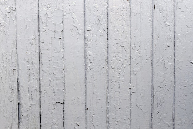Old wood plank wall background painted with grey colour weathered with natural patterns