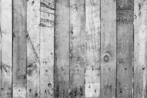 Old wood planks wall with scratch