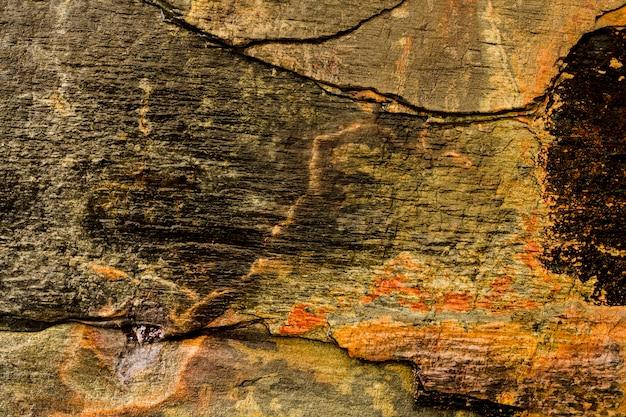 古い木材のテクスチャ背景とコピースペース