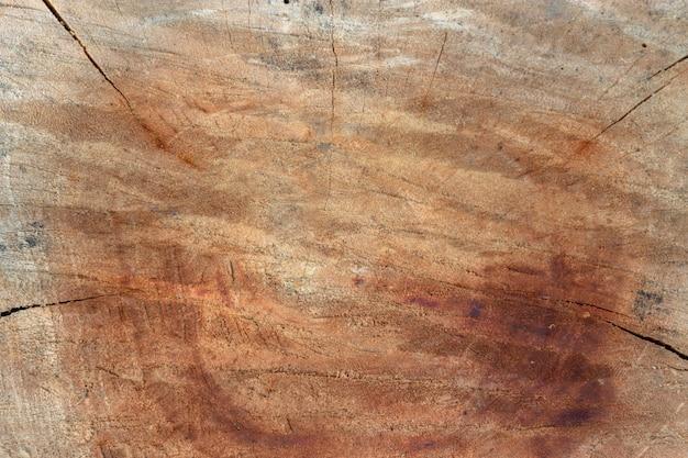 カット木の古い木目テクスチャ背景表面自然パターン