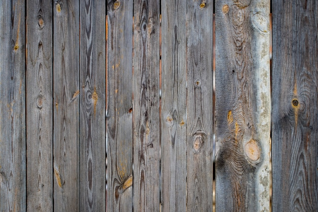 古い木材のテクスチャ背景、木の板のクローズアップ