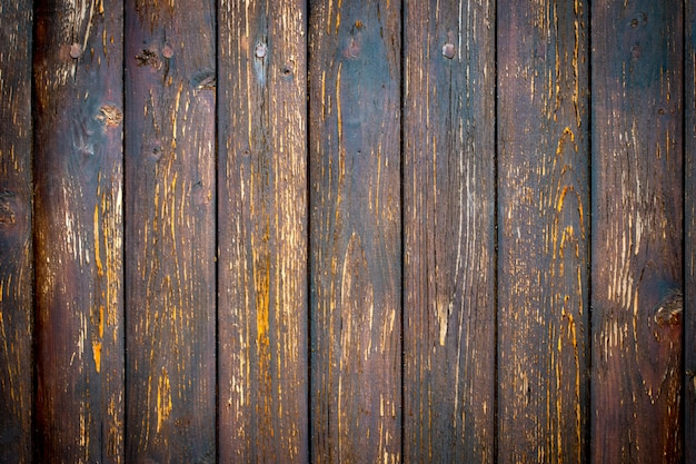 Old wood texture background, wood planks close-up.