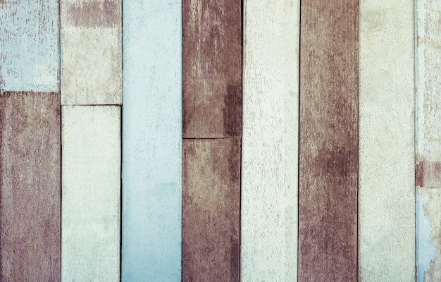 Old wood texture with grunge for abstract background. pastel or vintage color filtered.