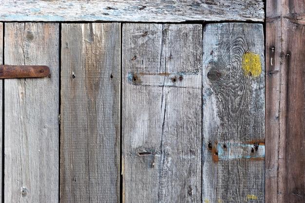 古い木製の背景。古いパネルの背景、抽象的なベニヤ。