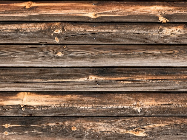 Old wooden background horizontal boards