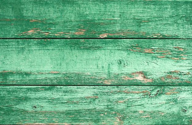 剥離塗料の古い木の板