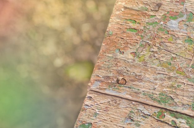 Old wooden cracked painted rustic background