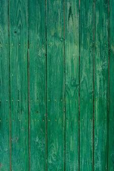 Old wooden door with aged metal door handle architectural textured background