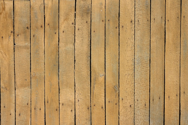 Old wooden fence.