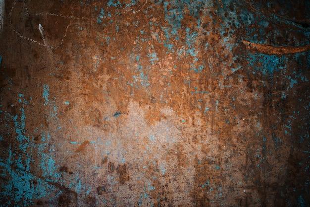 古い木製塗装グランジ背景