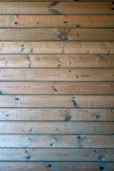 Old wooden planks with peeling paint. vintage wood texture.