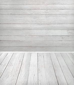 오래 된 목조 룸 인테리어, 텍스트 또는 디자인을위한 공간으로 빈 배경