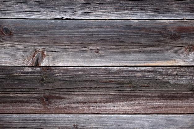 Старый деревянный деревенский коричневый фон. плоская планировка