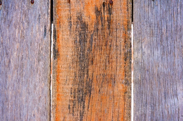 傷やチップの古い木製シールド。