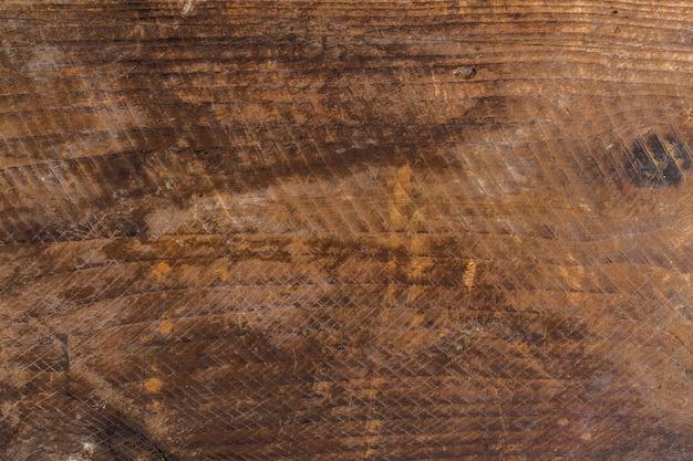 Vecchia struttura in legno con graffi