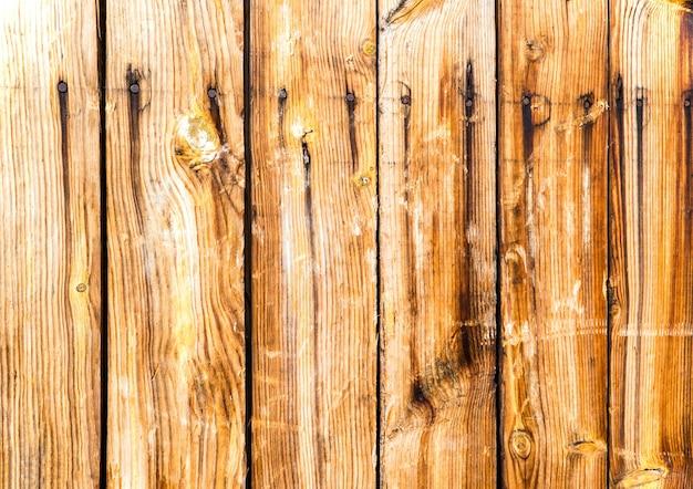古い木の垂直板のテクスチャ