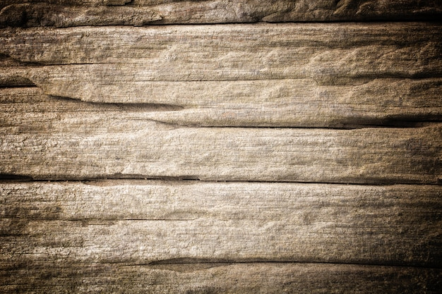 Old wooden wall barrier brown