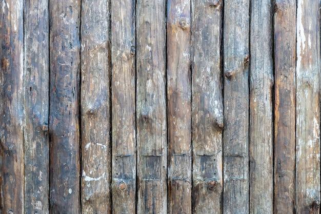 오래 된 나무 벽 텍스처 나무 판자 울타리