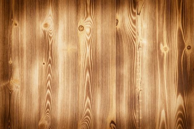 水平の織り目加工のボードと古い木製の壁。