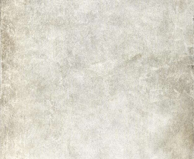Старый морщинистый грязный серый лист бумаги для фона
