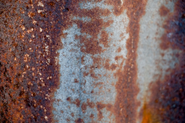 Old zinc roof texture background,rusted metal corroded colorful background