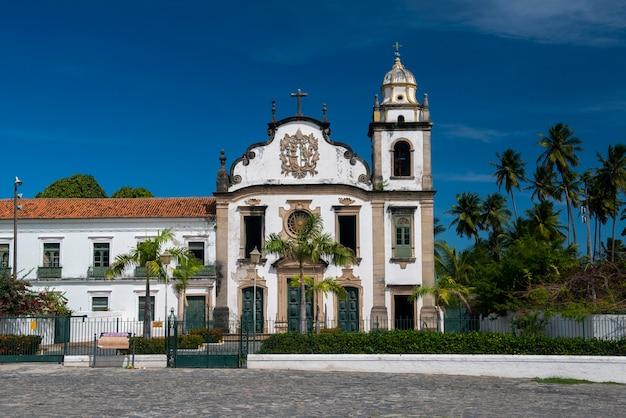 Olinda near recife pernambuco brazil monastery of saint bento