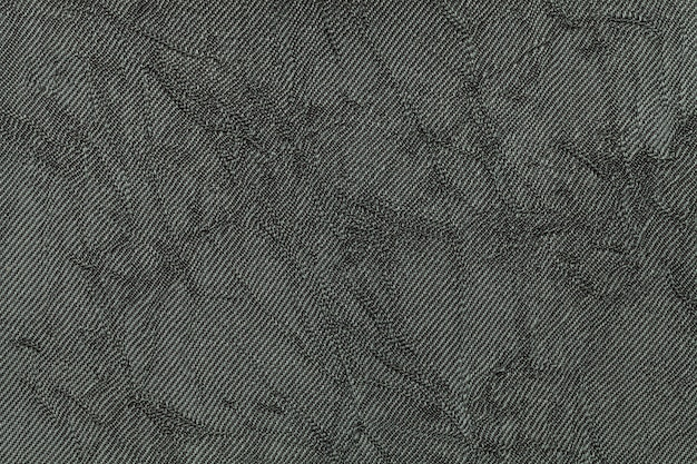 Olive green background from textile material