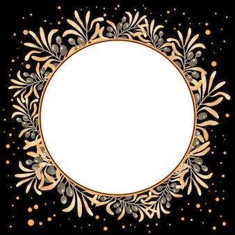 Olive wreath frames