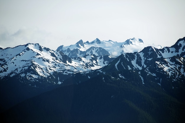Olympic mountains usa