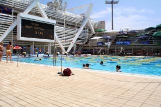 Olympic Swimmingpool Barcelona Spain