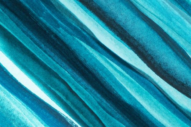 オンブルブルーの水彩背景の抽象的なスタイル 無料写真