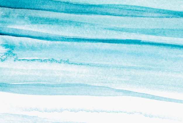 オンブルブルーの水彩背景の抽象的なスタイル