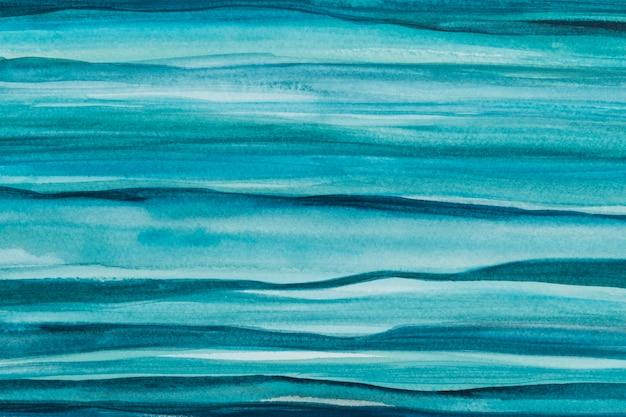 オンブルブルーの水彩画の背景の抽象的なスタイル