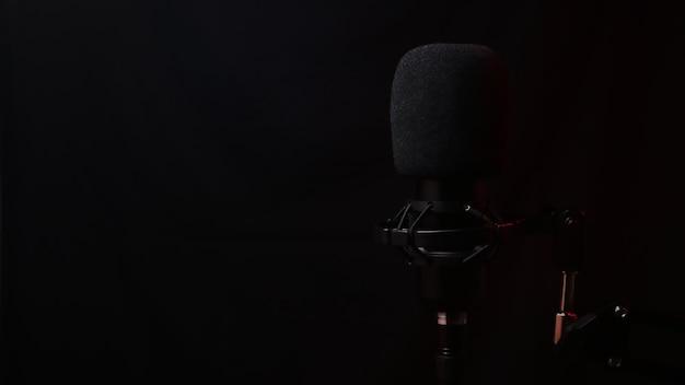 Воздушный микрофон в звукоизоляционной пене.
