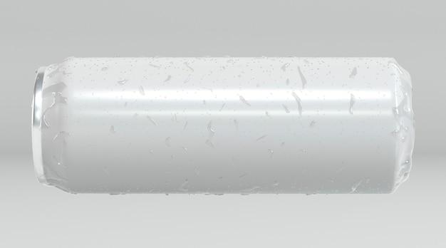 Una presentazione astratta della lattina di alluminio