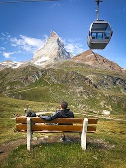 One day in sunny zermatt