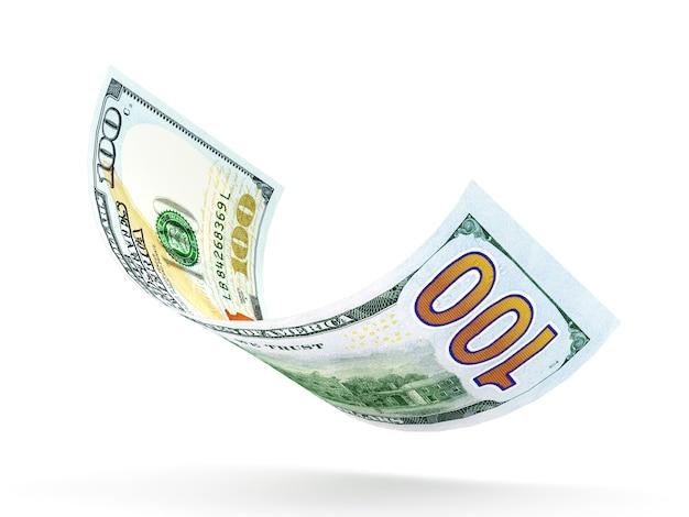 Банкнота в сто долларов