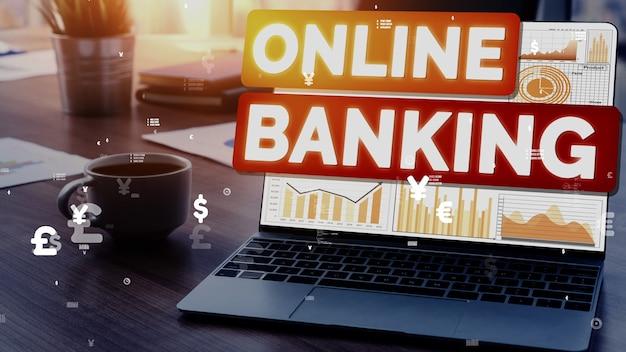 Концептуальная концепция интернет-банкинга для технологии цифровых денег