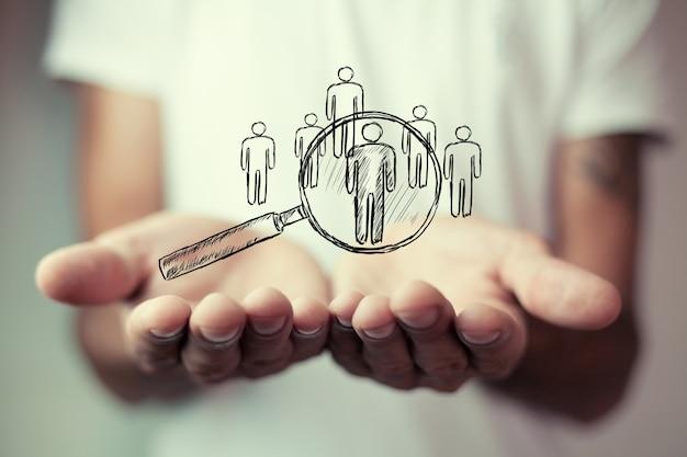 オンラインビジネスコンセプトグローバルビジネス契約