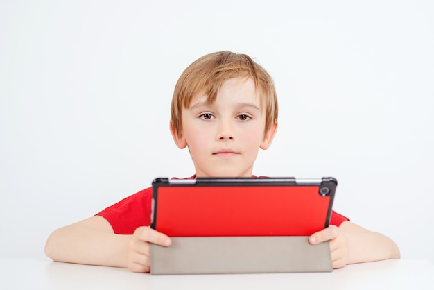 온라인 교육 및 전자 학습 개념.