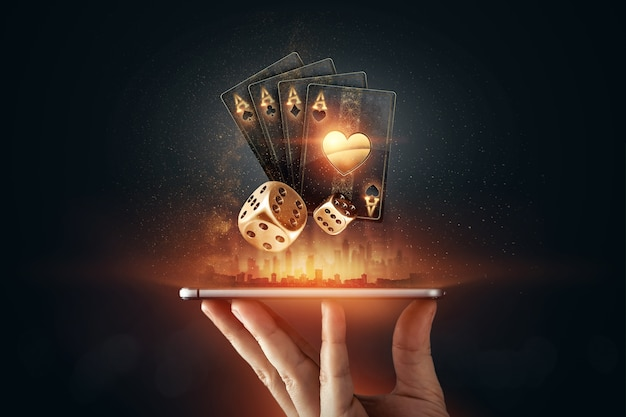 Online gambling on mobile