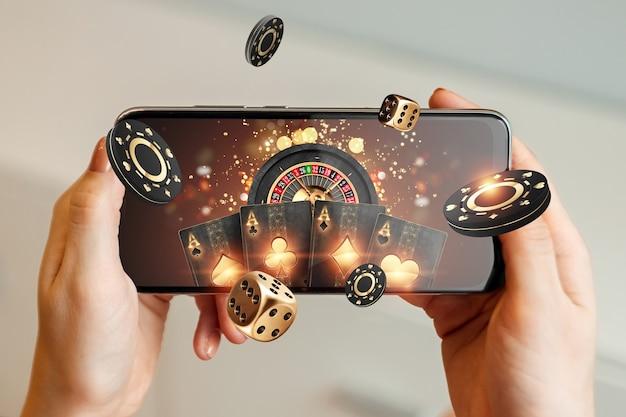 Азартные игры онлайн на мобильном телефоне