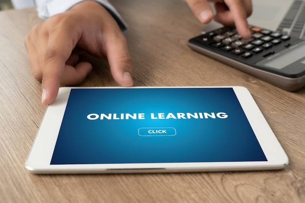 온라인 학습 연결 기술 코칭 기술 디지털 온라인 인터넷 교육